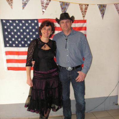 Bal Country à Bezouce - 09 Décembre 2012